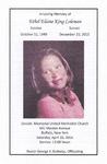 2016-04-20; Pamphlet; In Loving Memory of Ethel Elaine King Coleman