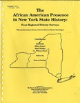 African American Presence in NYS History; History Survey; 1990