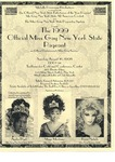 Flyer for the 1999 MIss Gay New York State Pageant by Michelle Dominique Productions