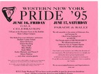 Flyer for Gala Celebration and Parade & Rally by Western New York Pride