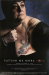 Poster for Tattoo Me More Four, Featuring Madeline Davis by Hallwall
