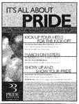 Poster for the Pride Buffalo 2001 Celebration by Pride Buffalo