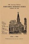 Anniversary Book; 150th; 1966