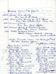 Organizations; United Methodist Women; Officers & Membership Lists; 1864-1966