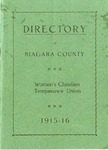 Organizations; Womens Christian Temperance Union; Directory; 1915-1916 by North Ridge United Methodist Church