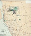 """Olmsted's Sketch Map of Buffalo,"" Buffalo: Matthews Northrup, 1881."