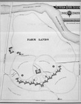 Buffalo Psychiatric Center, plan of grounds, c.1870, by Olmsted and Vaux.