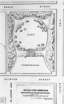 F.L. & J.C. Olmsted's plan for Bennett Place, 1887. From 18 <i>ARBPC</i> (1888).