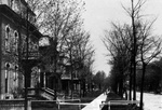 Delaware Avenue above North Street, c. 1890.