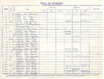 Records [Ledger; Membership Roll; Marriage; Baptisims]; 1953-1969