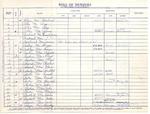 Records [Ledger; Membership Roll; Marriage; Baptisims]; 1953-1969 by St. Paul Lutheran Church of Niagara Falls