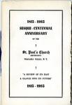 Anniversary Book; 125th; 1965 by St. Paul Methodist Church