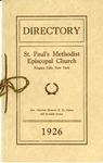 Directory; 1926
