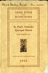Directory; 1928 by St. Paul Methodist Church