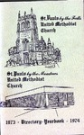 Directory; 1973-1974 by St. Paul Methodist Church