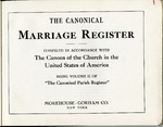 Parish Register; 1940-1950; Volume 2