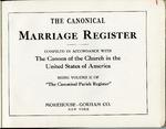 Parish Register; 1940-1950; Volume 2 by St. Peter's Episcopal Church of Niagara Falls