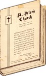 Pamphlet; Veterans; nd by St. Peter's Episcopal Church of Niagara Falls
