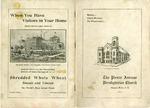 Anniversary Books; 20th; 50th; 65th; 1917-1958 by Pierce Avenue United Presbyterian Church