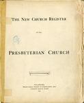 Membership; Church Register; 1893-1923 by Pierce Avenue United Presbyterian Church
