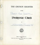 Membership; Church Register; 1940s-1990s