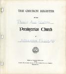 Membership; Church Register; 1940s-1990s