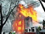 Photographs; Piece Ave Fire; 2011 by Pierce Avenue United Presbyterian Church