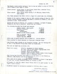 Session Minutes; Oct. 1971-Dec. 1988