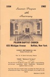 Church Anniversary 48th; 1982-09-26 by Pilgrim Missionary Baptist Church
