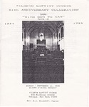 Church Anniversary 54th; 1988-09-25 by Pilgrim Missionary Baptist Church