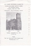 Church Anniversary 61st; 1995-09-24 by Pilgrim Missionary Baptist Church