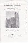 Church Anniversary 61st; 1995-09-24