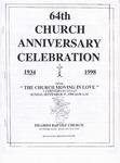 Church Anniversary 64th; 1998-09-27