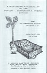 Pamphlet Deacons Deaconesses Mother Boards Anniversary 56th; 1990-05-27 by Pilgrim Missionary Baptist Church