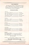 Pamphlet Pastor Anniversary 10th; 1975-10-01