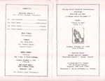 Pamphlet Pastor Anniversary 33rd; 1996-10-27