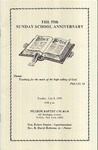 Pamphlet Sunday School Anniversary 55th; 1990-07-08