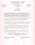 1999-06-11; Letter; Resolution for Brother Aron Davis