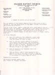 Undated; Letter; A Tribute to Sister Lucille Holloway