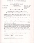 Undated; Letter; Resolution for Brother Wilmer Brown