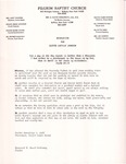 Undated; Letter; Resolution for Sister Lucille Johnson