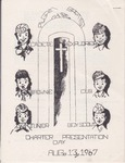 1967-08-13; Pamphlet; Charter Presentation Day by Pilgrim Missionary Baptist Church