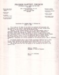 1982-04-03; Letter Resolution for Brother John T Hillard Sr