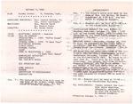 1984-10-07; Pamphlet; Announcements
