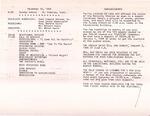 1984-12-23; Pamphlet; Announcements