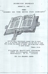 1988-01-31; Pamphlet; Mission Sunday