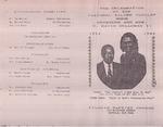 1988-10-09; Pamphlet; Pre Celebration of the Pastoral Silver Jubilee
