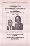 1988-10-23; Pamphlet; Celebration of the Pastoral Silver Jubilee