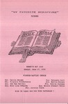 1990-06-17; Pamphlet; My Favorite Scripture