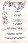 Undated; Pamphlet; In Loving Memory